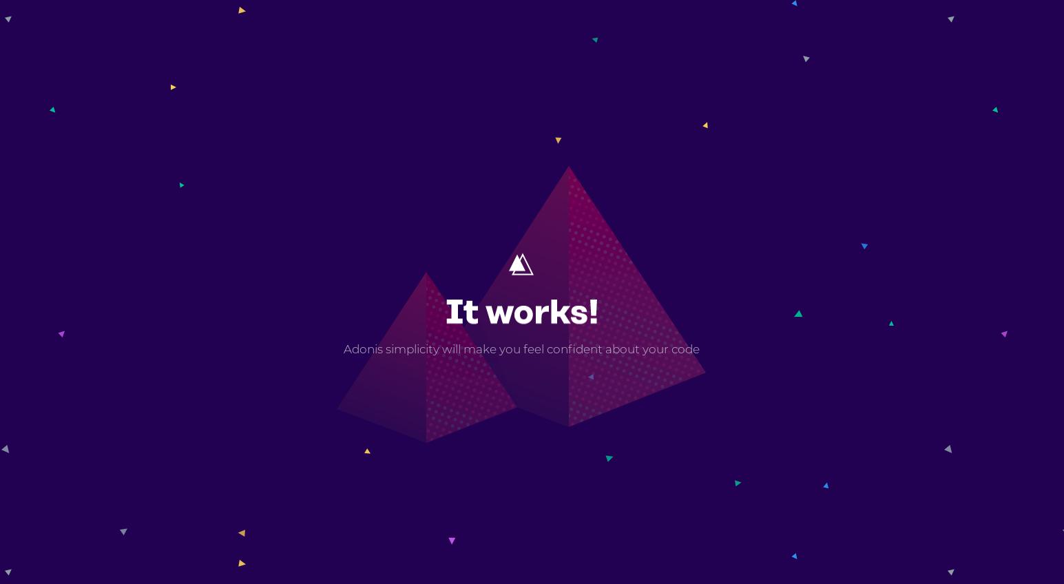 Dockerizing an AdonisJs App