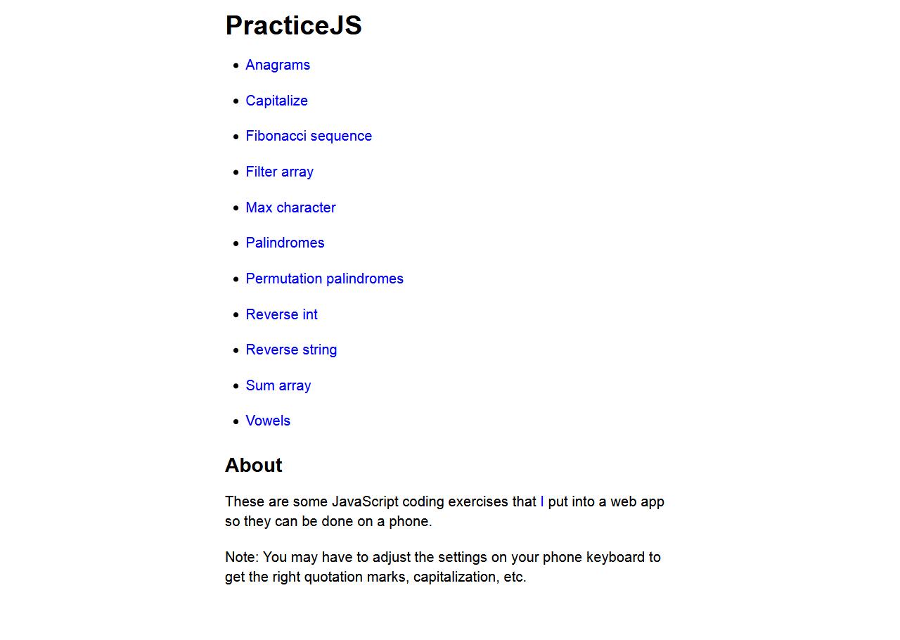 PracticeJs