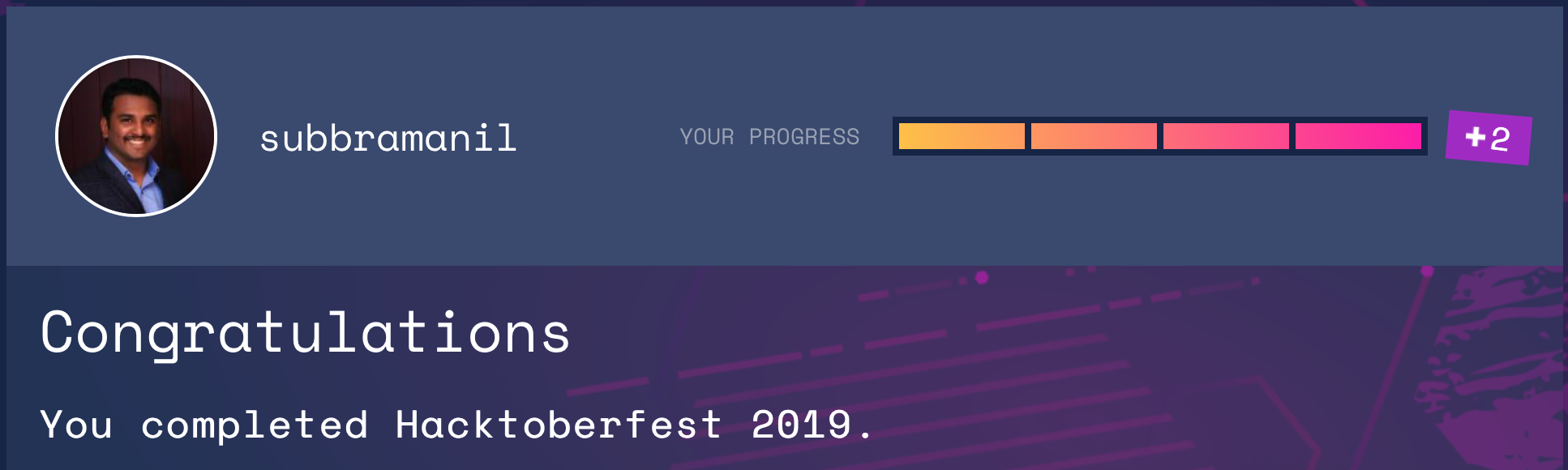 Hacktober Completion Status