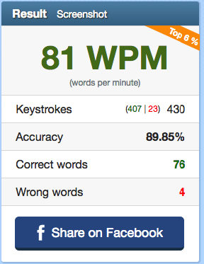 What's your typing speed (WPM)? - DEV Community 👩 💻👨 💻