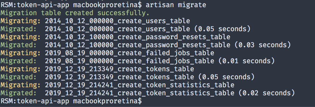 migrating tables