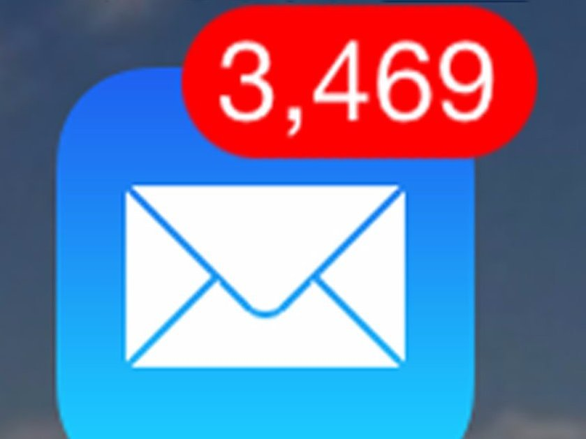 Unread emails