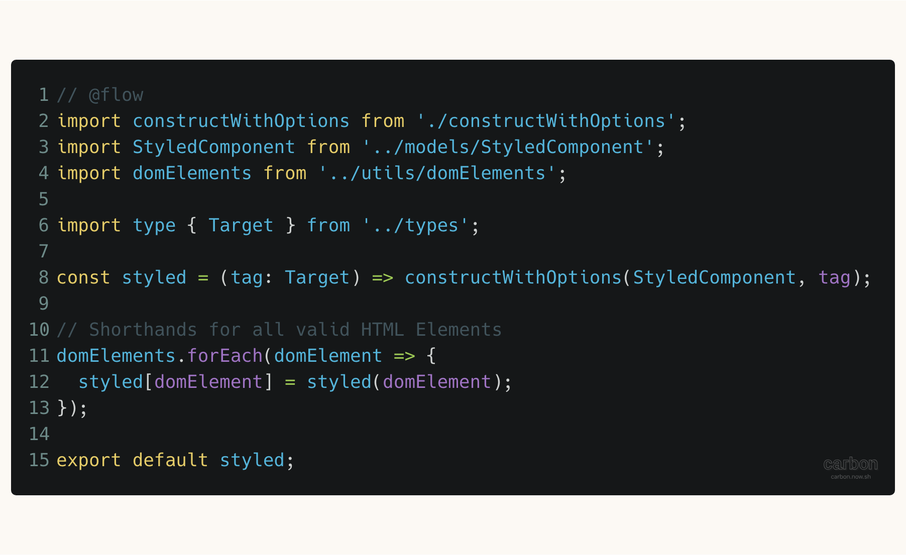 Styled-Components styled.js file
