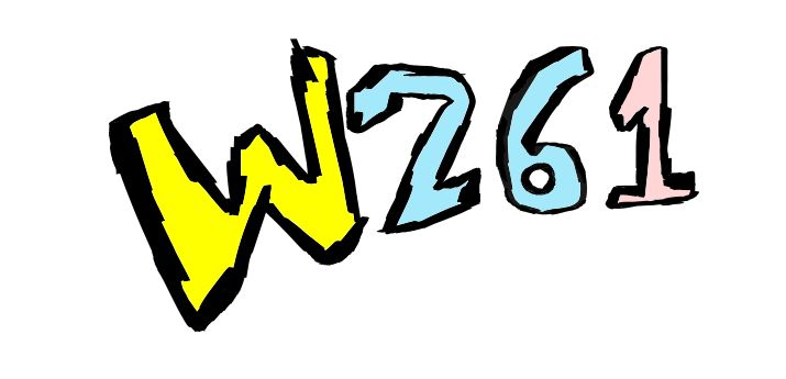 Removing the pink sparkles from the W261 logo.