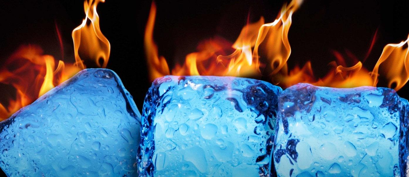 Heating Up Ice