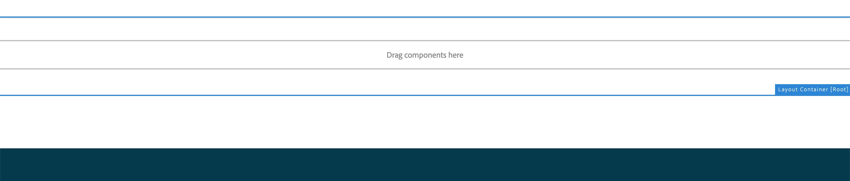 Screenshot of working editable area