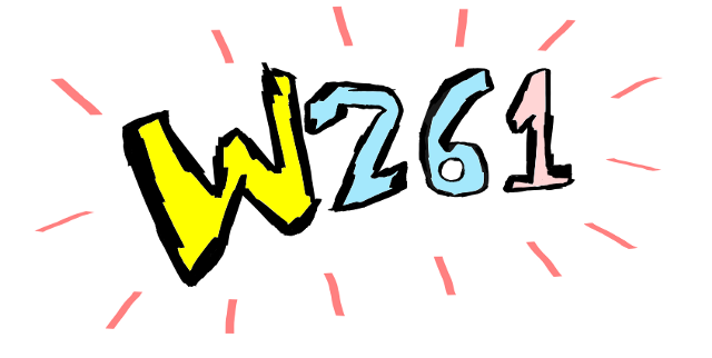 W261 logo on hover.