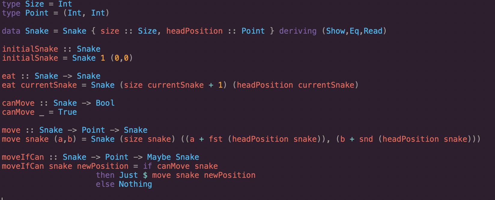 SnakeGame Implementation