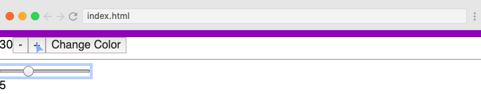 render count in the browser.