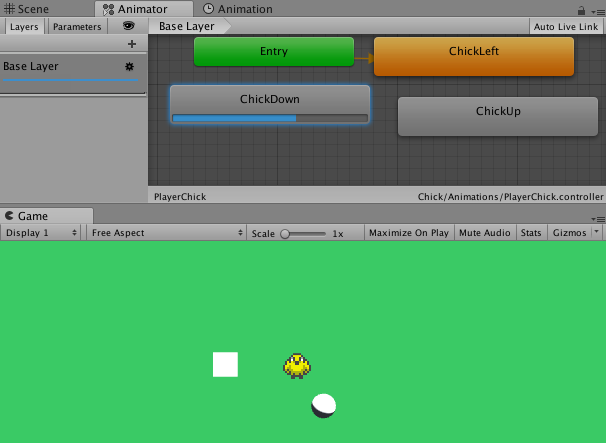 Make sprite animation with Unity