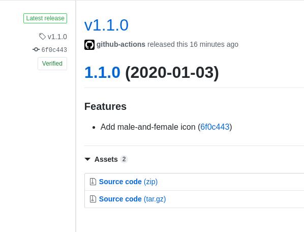 Github Release