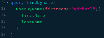 findByName query