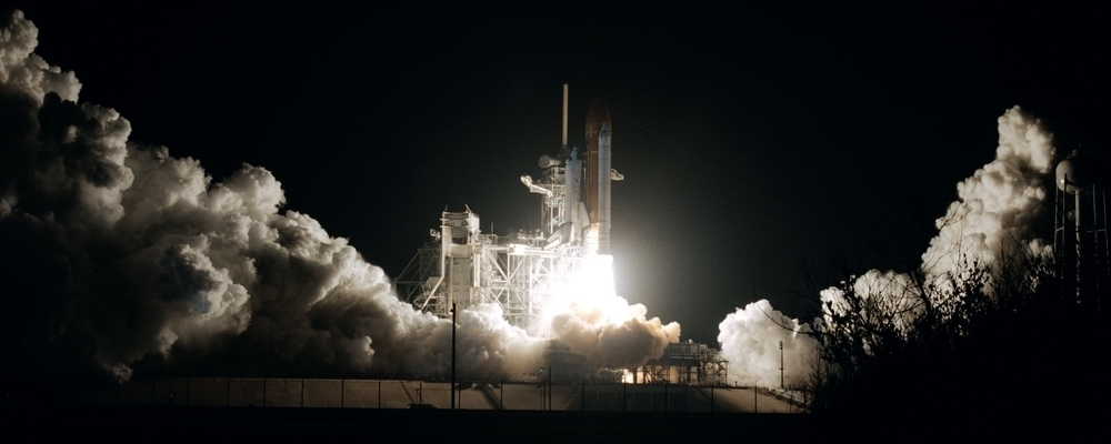 NASA Space Rocket