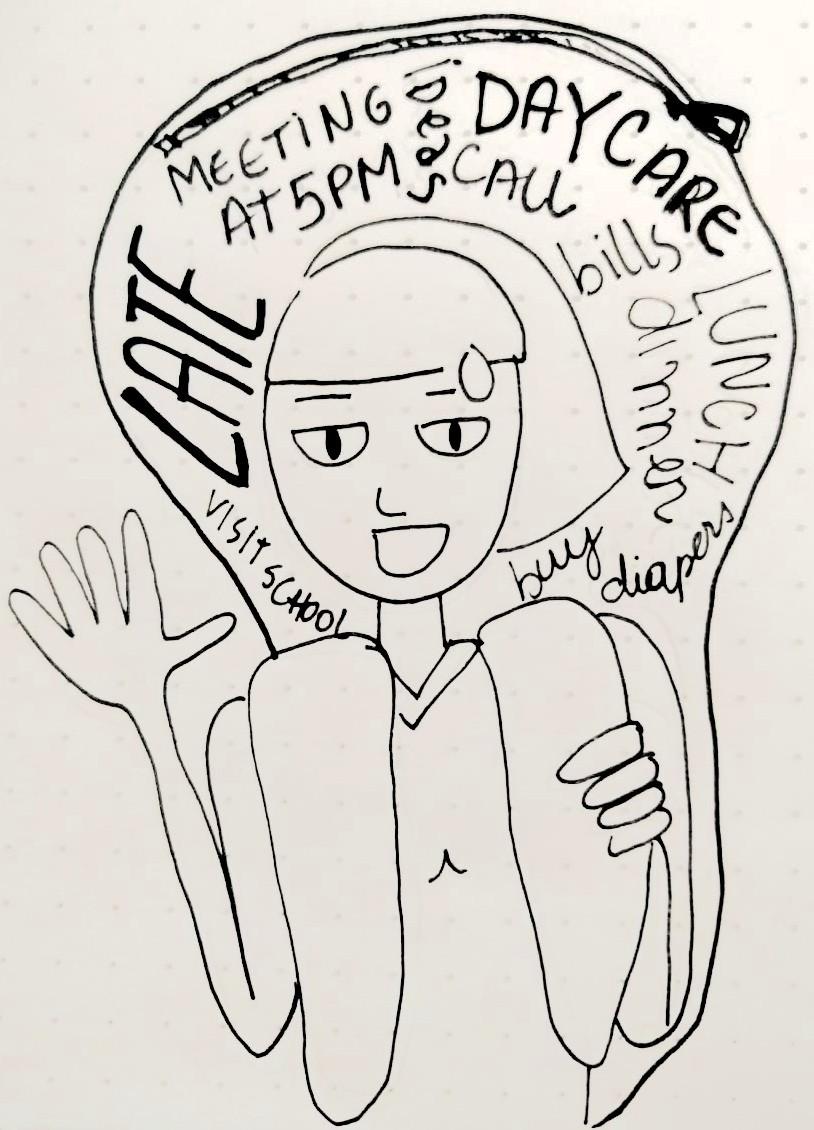 the backpack illustration